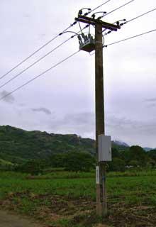 NOJA Power Recloser & Control Cubicle Installation