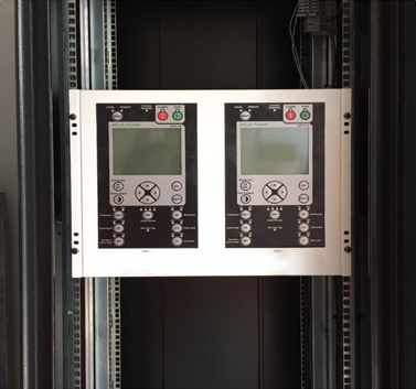 NOJA Power Dual Remote HMI Panel Installed in Control Room
