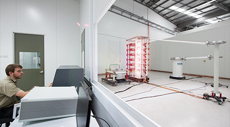 600kV Impulse Laboratory in Operation