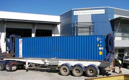 Container headed for REB Bangladesh