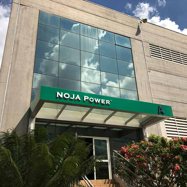 Figure 3 - Grand Entrance to new NOJA Power Brazil facility