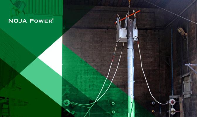 NOJA Power OSM Recloser Arc Fault Testing