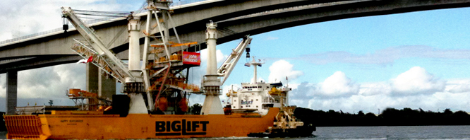 bulk coal ship-loader