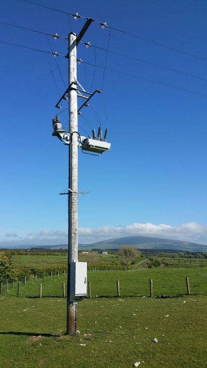 Ballycastle NOJA Power OSM Recloser Installation, Northern Ireland