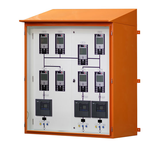 NOJA Power Custom Remote Panel HMI Unit