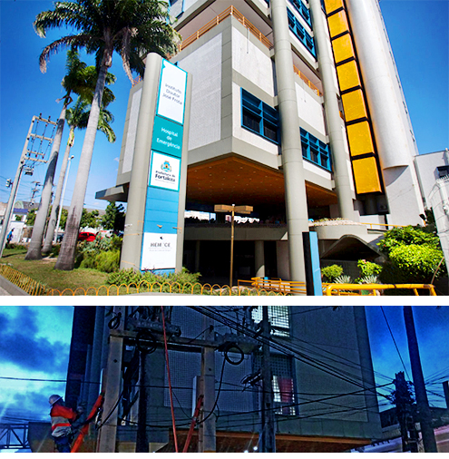 NOJA Power ACO installation supplying the Dr. José Frota (IJF) Hospital Institute