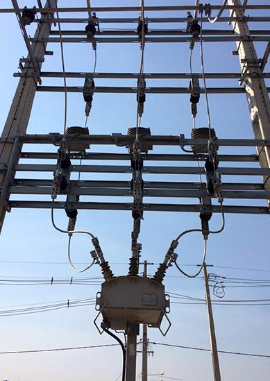 NOJA Power OSM Recloser installation in ELETROBRAS Ariquemes II substation
