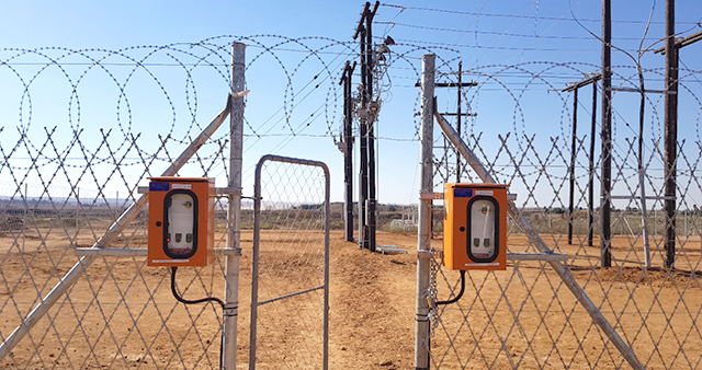Interlocks connected to the OSM Reclosers in the Switch Yard