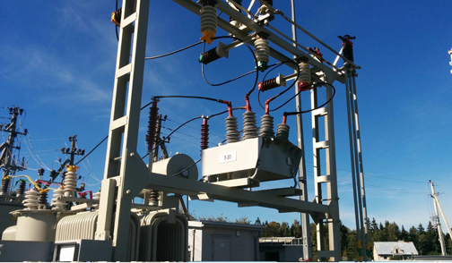 OSM 38 Recloser Substation Installation