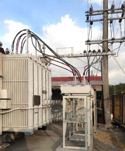 NAPOCOR NOJA Power Recloser Substation Installation at Northwest Luzon, Philippines