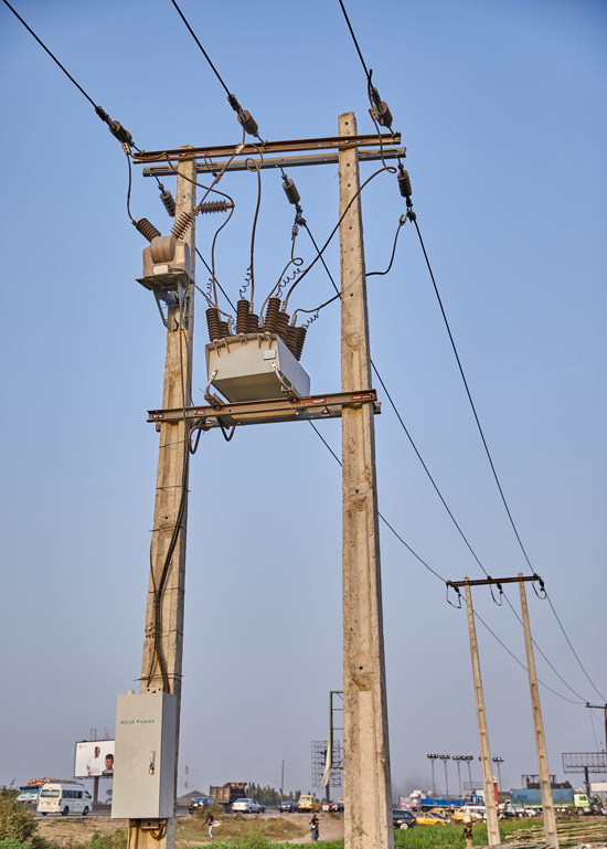 A NOJA Power OSM Recloser with RC15 Control in service in Nigeria.