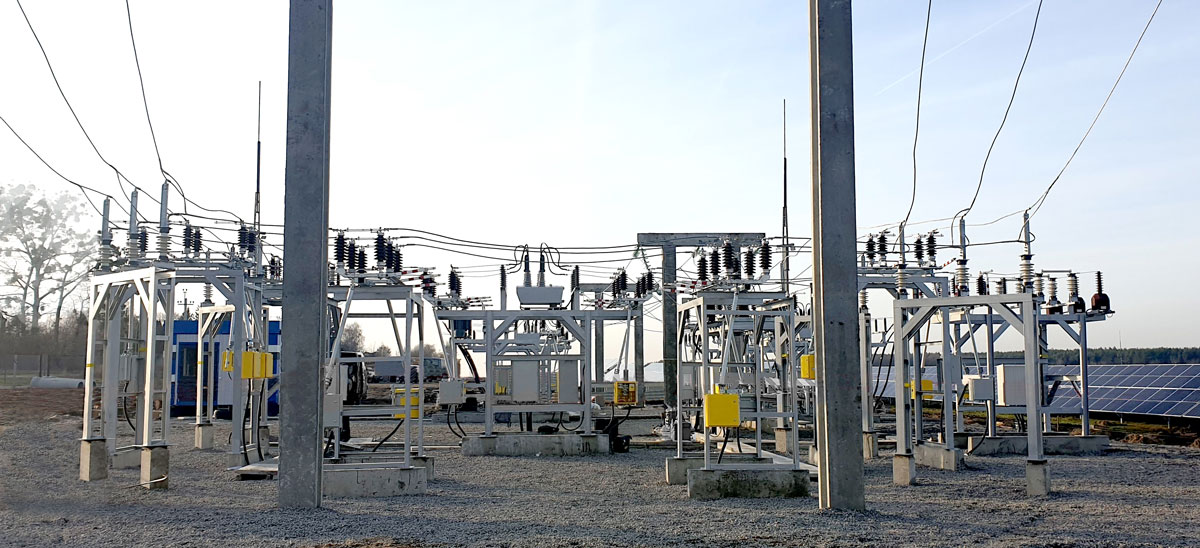 NOJA Power OSM Reclosers used for Grid Scale Solar Generation Connection