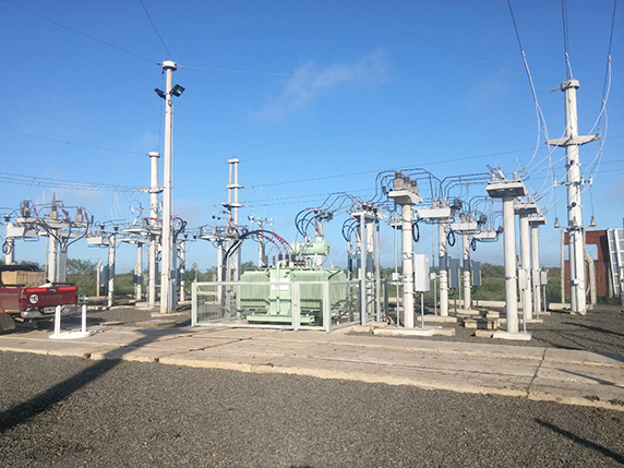 Figure 3 – NOJA Power OSM Reclosers used in an Argentinian Substation