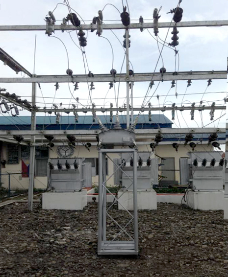 NAPOCOR NOJA Power Recloser Substation Installation at Northern Mindanao, Philippines