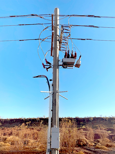 Overhead Connection Side – POWINS-NOJA Power Mobile Substation