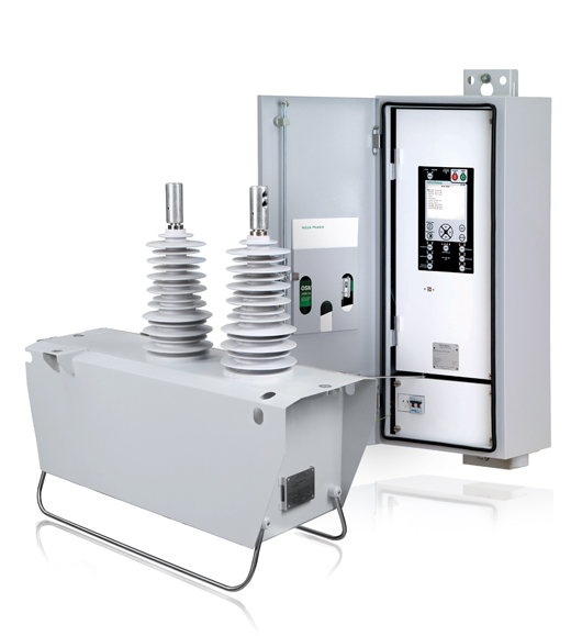 NOJA Power Single Phase Automatic Circuit Recloser with RC10 Control and Communication Cubicle