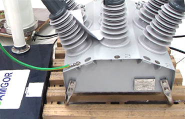 Test condition 1 – Surge applied directly to Surge Arrestor Mounting Position